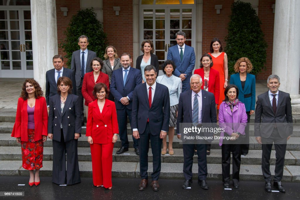 Presentation Of Spain's New Government At The Moncloa Palace