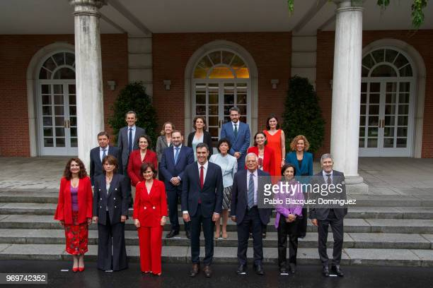 Spanish minister for finance Maria Jesus Montero Spanish minister of justice Dolores Delgado Deputy Prime Minister and minister of equality Carmen...