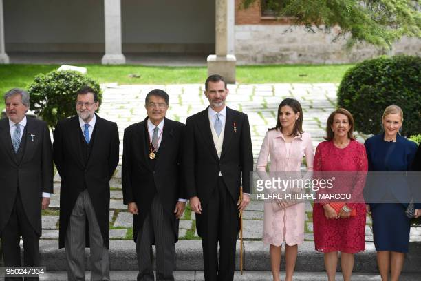Spanish Minister of Education Culture and Sports and Government spokesperson Inigo Mendez de Vigo Spanish Prime Minister Mariano Rajoy Nicaraguan...