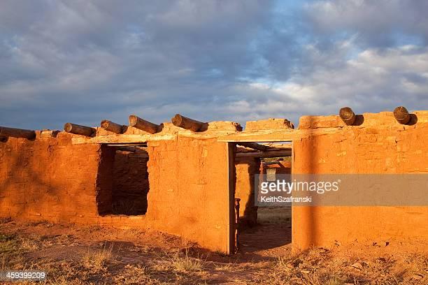 Spanish Mission Hacienda at Abo New Mexico