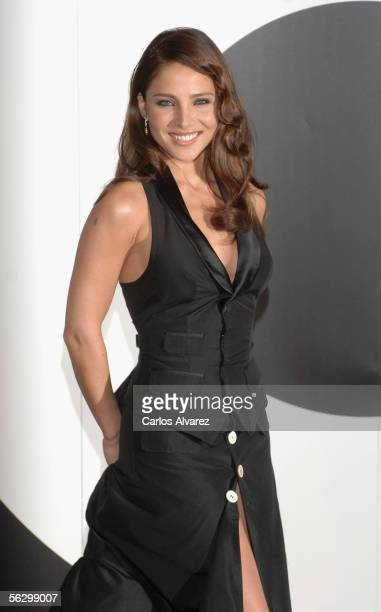 Spanish model and actress Elsa Pataky attends the GQ Magazine Awards on November 29 2005 at Hotel Palace in Madrid Spain