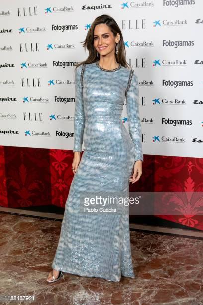Spanish model Ariadne Artiles attends 'NocheConAlma' charity dinner on November 18, 2019 in Madrid, Spain.