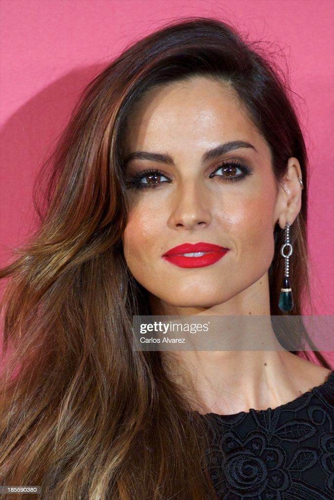 Spanish model Ariadne Artiles attends the Cosmopolitan Fun Fearless Female Awards 2013 at the Ritz Hotel on October 22, 2013 in Madrid, Spain.