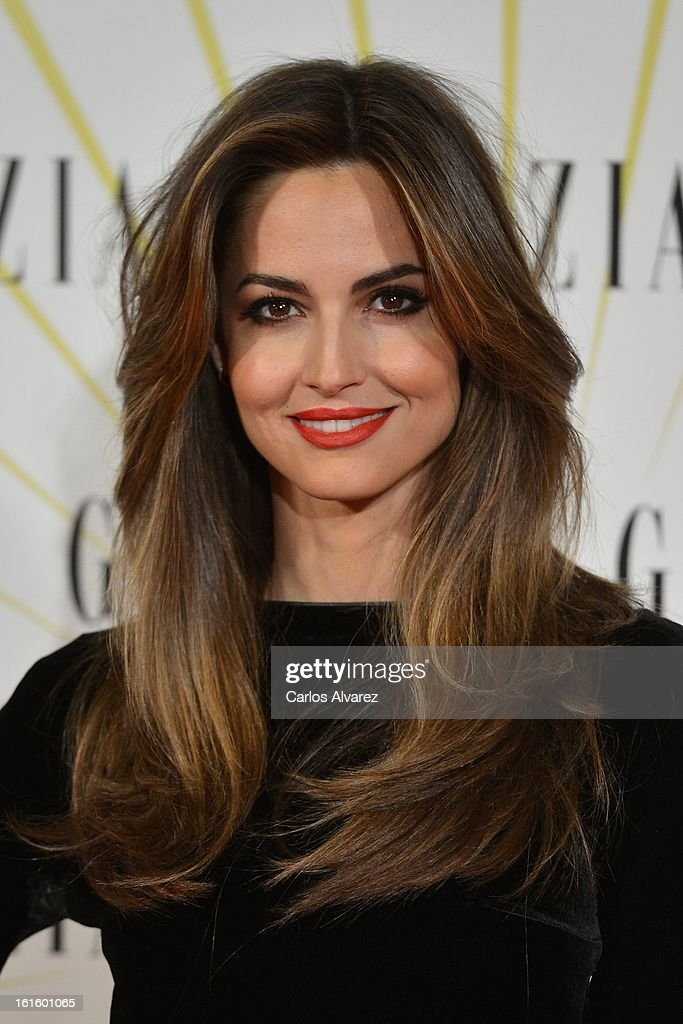 Spanish model Ariadne Artiles attends the 'Grazia' magazine launch party at the Price theater on February 12, 2013 in Madrid, Spain.