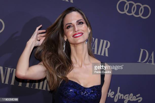 Spanish model Ariadne Artiles attends the Vanity Fair awards 2019 at the Royal Theater on November 25, 2019 in Madrid, Spain.
