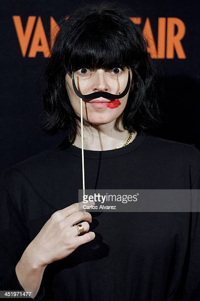 """Spanish model Bimba Bose attends the """"Cocktail Surrealista"""" by Vanity Fair Magazine at the Thyssen Museum on November 25, 2013 in Madrid, Spain."""
