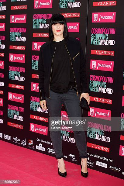 """Spanish model Bimba Bose attends the """"Cosmopolitan Shopping Week"""" party at the Plaza de Callao on May 28, 2013 in Madrid, Spain."""