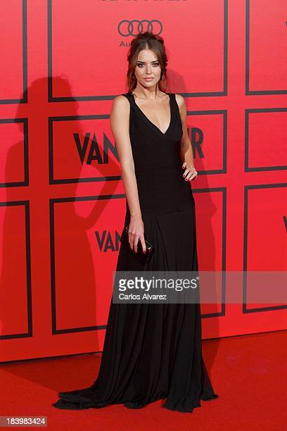 Spanish model Clara Alonso attends the Vanity Fair 5th anniversary paty at the Santa Coloma Palace on October 10 2013 in Madrid Spain