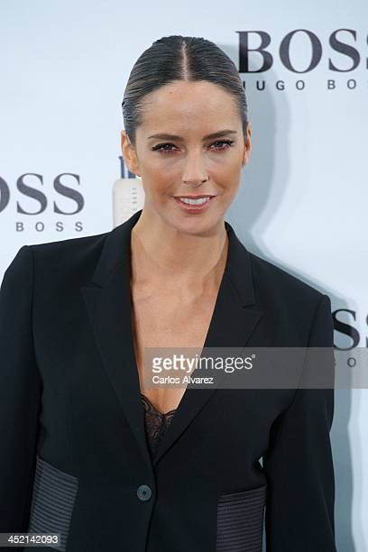 Spanish model Estefania Luyk attends the 'Boss Bottled' 15th anniversary party at the Eurostar Hotel on November 26 2013 in Madrid Spain