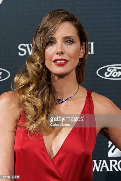 Spanish model Estefania Luyk attends the In Style Magazine 10th Anniversary party at the Melia Fenix Hotel on October 21 2014 in Madrid Spain