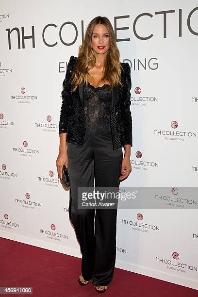 Spanish model Estefania Luyk presents the new NH Collection Eurobuilding Hotel on October 9 2014 in Madrid Spain