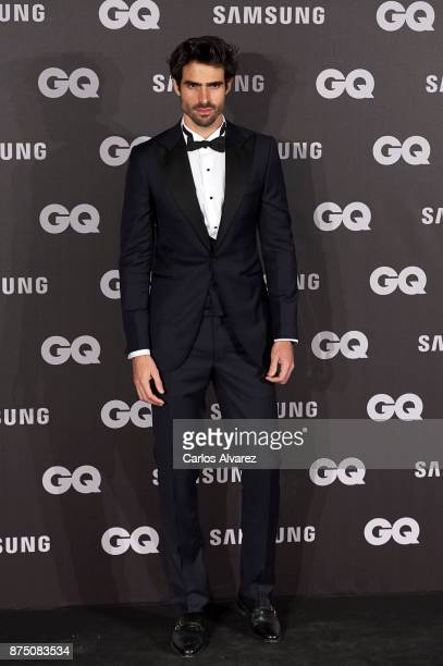 Spanish model Juan Betancourt attends the 'GQ Men of the Year' awards 2017 at the Palace Hotel on November 16 2017 in Madrid Spain