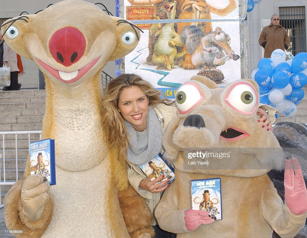 """""""Ice Age"""" Video and DVD Promotional Launch in Madrid"""