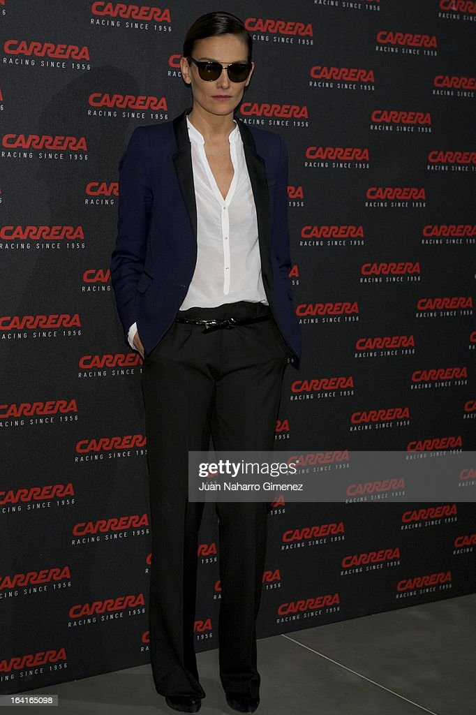 Spanish model Laura Ponte attends 'Carrera Ignition Night' party at Matadero on March 20, 2013 in Madrid, Spain.
