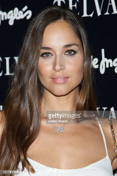 Spanish model Lorena Van Heerde attends Que Llevar Ahora documentary presentation on September 11 2012 in Madrid Spain
