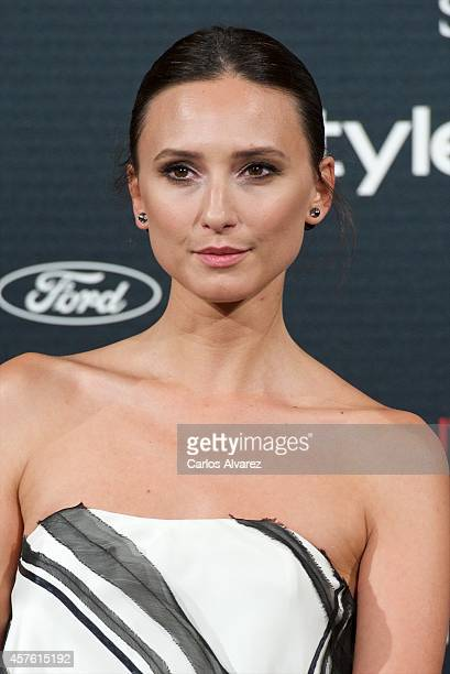 Spanish model Maite de la Iglesia attends the In Style Magazine 10th Anniversary party at the Melia Fenix Hotel on October 21 2014 in Madrid Spain
