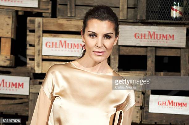 Spanish model Mar Flores attends 'Maison GHMumm' 8th edition presentation on November 24 2016 in Madrid Spain