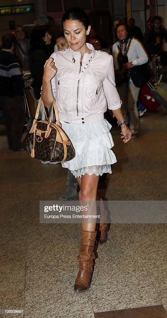 Spanish model Maria Jose Suarez sighting on May 20, 2010 in Madrid, Spain.