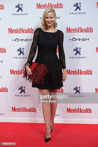 Spanish model Maria Leon attends the Men's Health 2014 awards at the Goya Theater on October 28 2014 in Madrid Spain