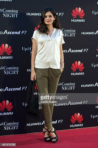 Spanish model Maria Reyes attends Huawei Ascend P7 cocktail party at the Pastrana Palace on July 1 2014 in Madrid Spain
