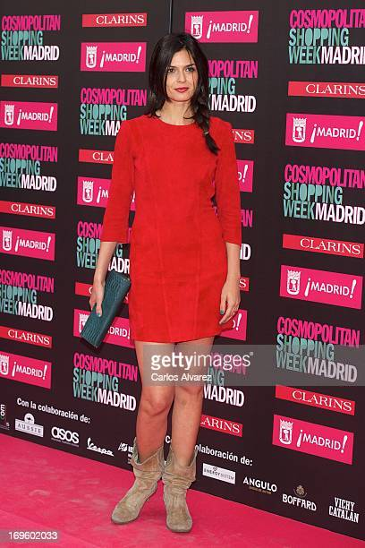 Spanish model Maria Reyes attends the 'Cosmopolitan Shopping Week' party at the Plaza de Callao on May 28 2013 in Madrid Spain