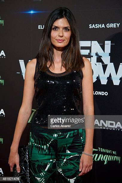 Spanish model Maria Reyes attends the 'Open Windows' premiere at the Capitol cinema on June 30 2014 in Madrid Spain