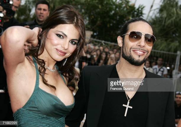 Spanish model Marisa Jara and Spanish dancer Joaquin Cortes attend the 'Over The Hedge' premiere at the Palais during the 59th International Cannes...