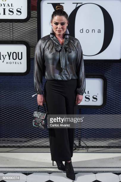 Spanish model Marisa Jara attends the 'Yo Dona' party at Only You Hotel Atocha on January 23 2018 in Madrid Spain
