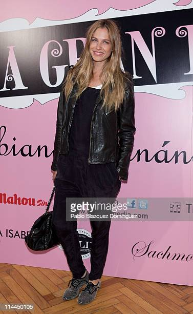 Spanish model Martina Klein attends 'La Gran Depresion' premiere at Infanta Isabel Theatre on May 19, 2011 in Madrid, Spain.