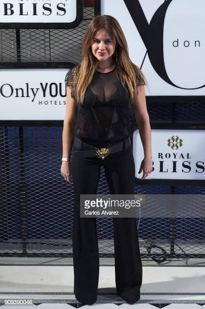 Spanish model Monica Hoyos attends the 'Yo Dona' party at Only You Hotel Atocha on January 23 2018 in Madrid Spain