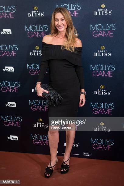 Spanish model Monica Pont attends 'Molly's Game' Madrid premiere at Callao Cinema on December 4 2017 in Madrid Spain