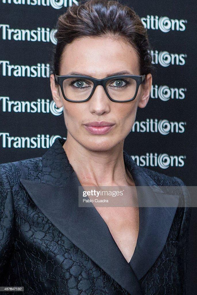 Nieves Alvarez Attends 'Matsuda' Glasses Masterclass in Madrid