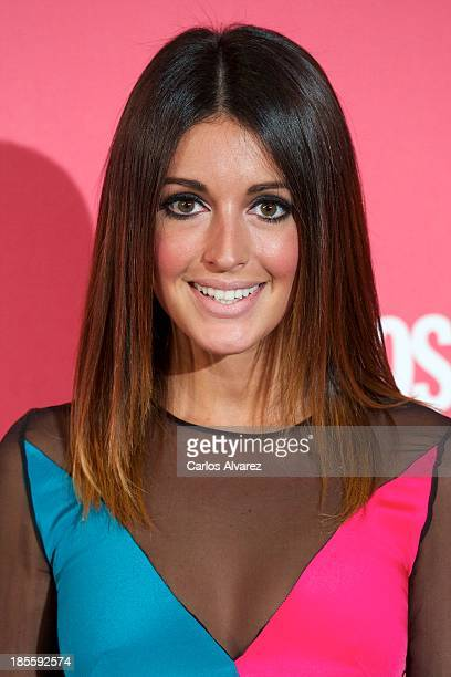 Spanish model Noelia Lopez attends the Cosmopolitan Fun Fearless Female Awards 2013 at the Ritz Hotel on October 22 2013 in Madrid Spain