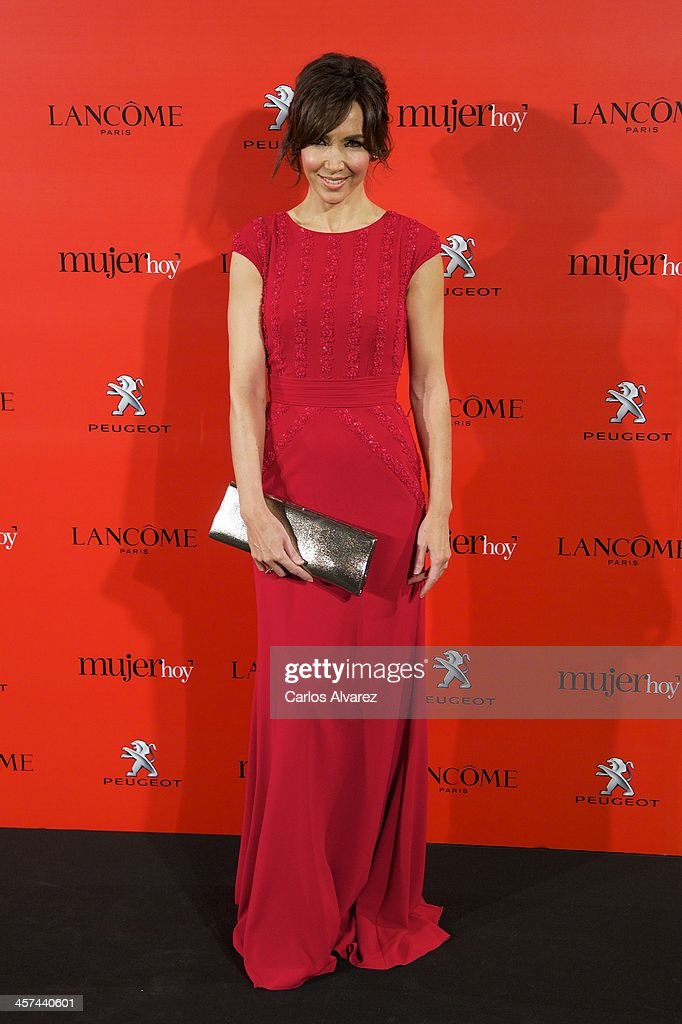 Spanish model Paloma Lago attends the 'Mujer de Hoy' awards 2013 at the Hotel Palace on December 17, 2013 in Madrid, Spain.