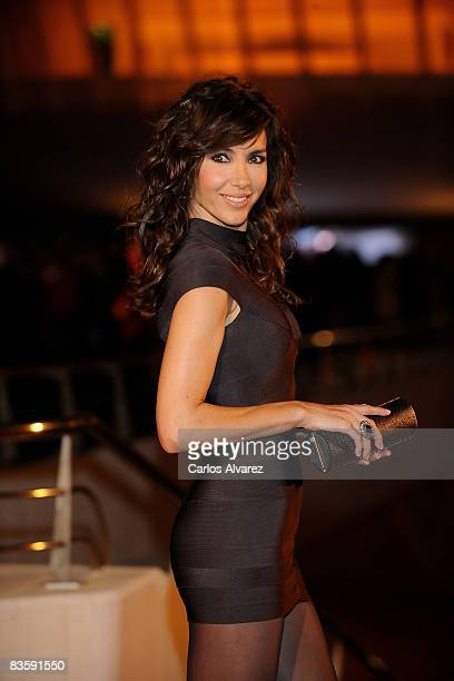 Spanish model Paloma Lago attends the Quantum of Solace premiere at the Palau de las Arts on November 06 2008 in Valencia Spain