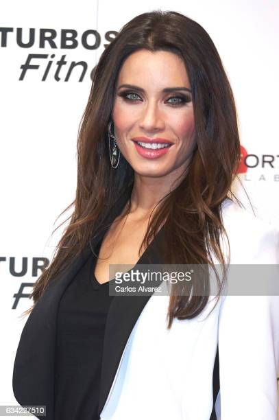 Spanish model Pilar Rubio attends 'Yoelijocuidarmees' launch event at Beterlsman studio on February 8 2017 in Madrid Spain