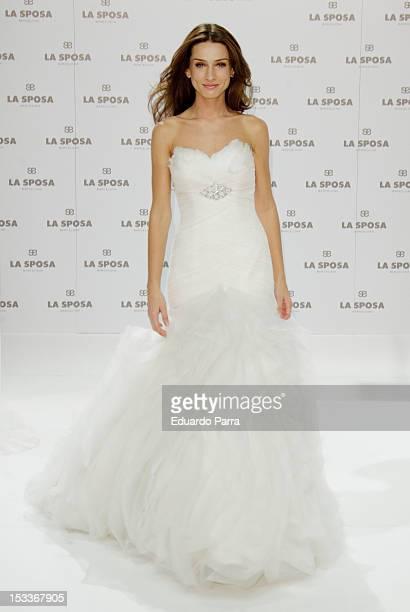 f1eaddb6cdc5 Spanish model Raquel Jimenez presents La Sposa collection 2013 at Q17  studio on October 4 2012