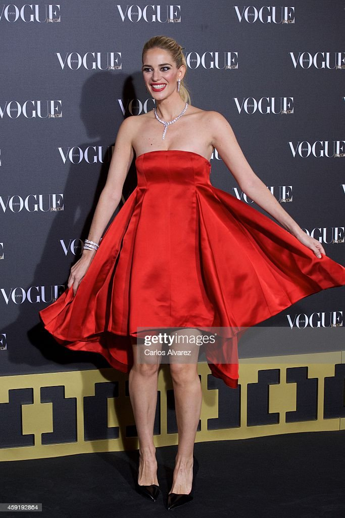 Spanish model Teresa Baca attends the 'Vogue Joyas' 2013 awards at the Stock Exchange building on November 18, 2014 in Madrid, Spain.
