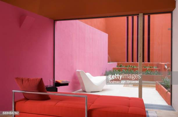 Spanish modernist house