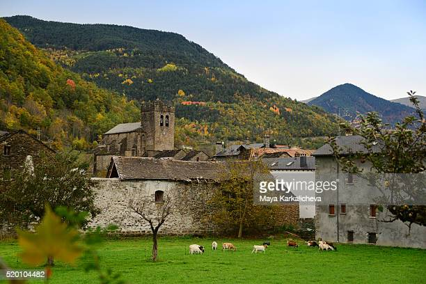 Spanish mountain village, Broto, Pyrenees