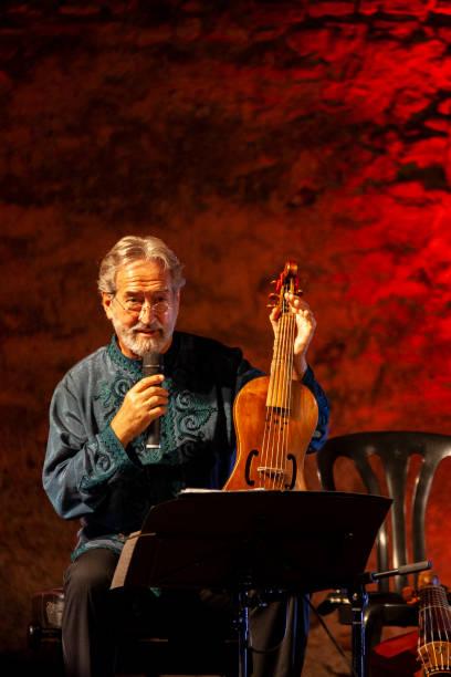 ESP: Jordi Savall Concert - 'Noches de Gibralfaro' Festival In Malaga