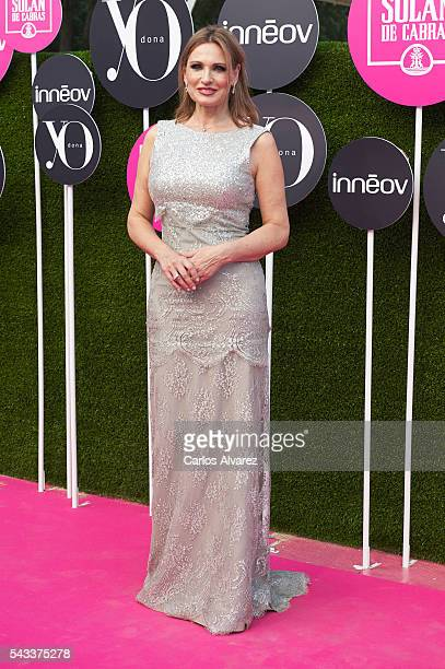 Spanish Opera singer Ainhoa Arteta attends 'Yo Dona' International awards on June 27 2016 in Madrid Spain