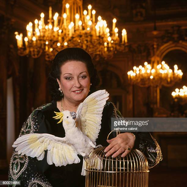 Spanish Opera Soprano Montserrat Caballe