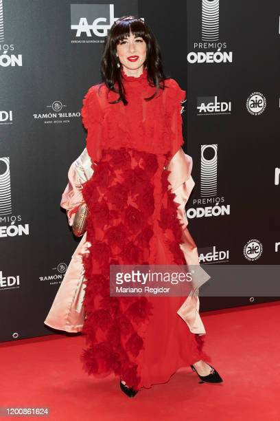 Spanish Personal stylist and DJ Natalia Ferviu attends Odeon Awards 2020 at Royal Theater on January 20 2020 in Madrid Spain