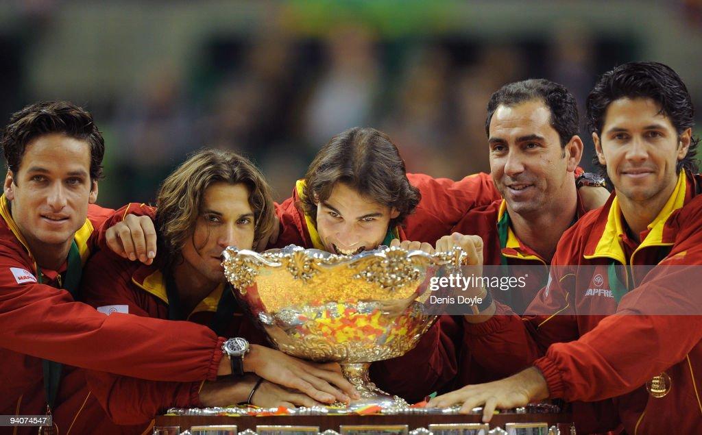 Spain v Czech Republic - Davis Cup World Group Final - Day Three