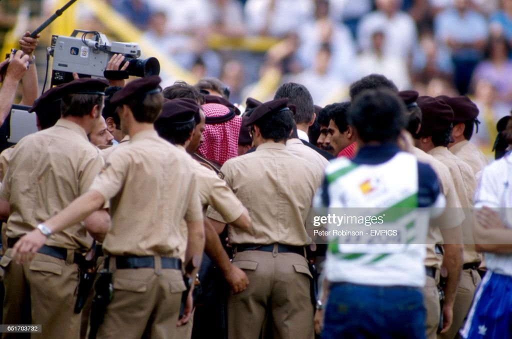 Image result for kuwait fa president on field