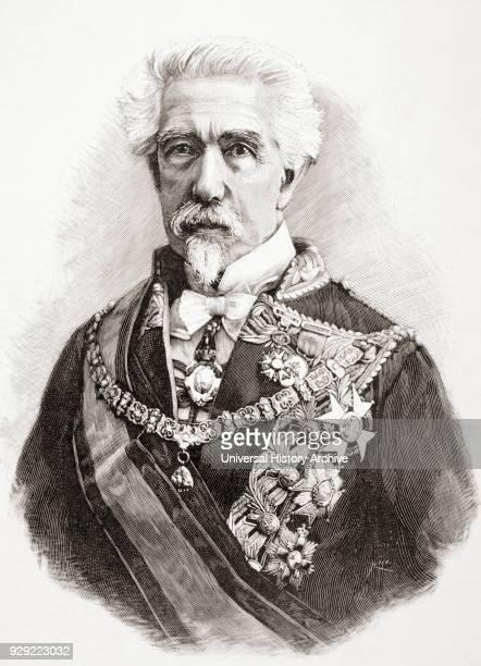 Spanish politician soldier author and poet From La Ilustracion Española y Americana published 1892