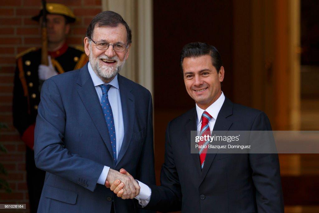 Mariano Rajoy Meets President of Mexico : Fotografía de noticias