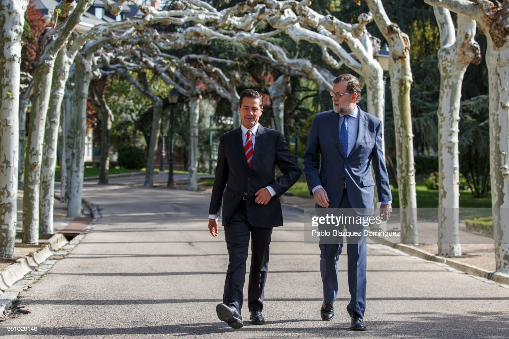 Mariano Rajoy Meets President of Mexico
