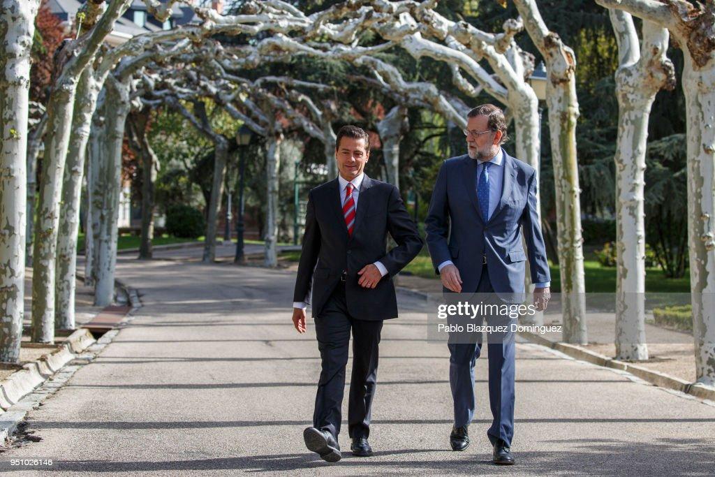 Mariano Rajoy Meets President of Mexico